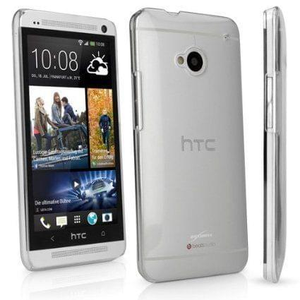 HTC One me Crystal Clear Totu Silicone Transparent Full Flexible Soft Corner protection Cover Guard with TPU Slim Back Case Back Cover