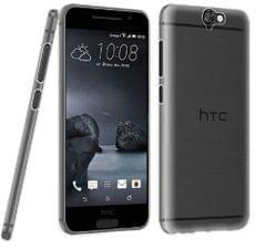 HTC One A9 Ultra Thin 0.3mm Clear Transparent Flexible Soft TPU Slim Back Case Cover