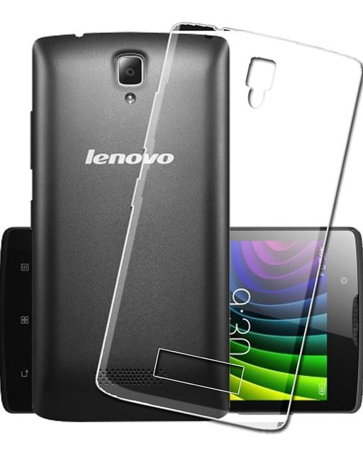 LENOVO A2010 Transparent Flexible Soft TPU Slim Back cover Compatible