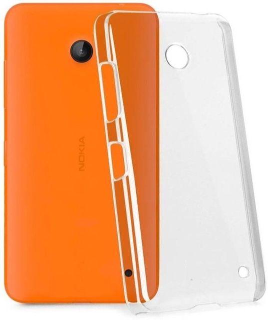 Nokia X2 Back Cover (Transparent)