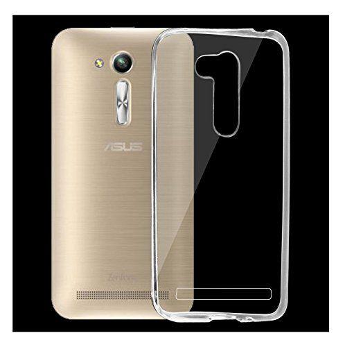 Zenfone Go Transparent Soft Ultra Slim Back Cover