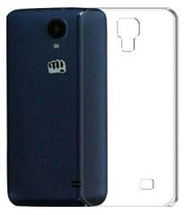 Micromax Bolt (Q383)  Quality Ultra Thin Tranparent Back Cover