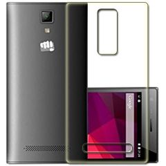 Micromax canvas Selfie (Q349) Silicon Back  Cover