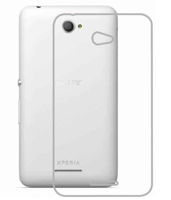 Sony Xperia-E4 (C2115)  Quality Ultra Thin Tranparent Silicon Back Cover