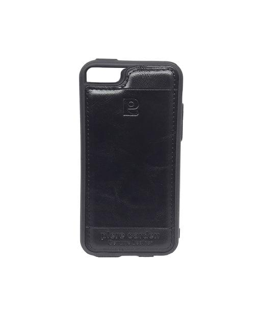 iphone 5 & 5s& SE  Piere Carden Luxury Back Lather Case