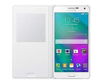 Samsung Galaxy J5 2016 Edition Leather Flip Case Cover (White)