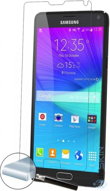 Samsung Note-4 i-Kare  Tempered Glass