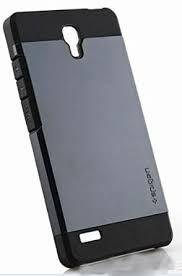 Xiaomi Redmi Note Spigen SLIM ARMOR Hybrid Designer Hard Back Case-Silver