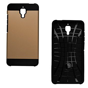 Xiaomi Mi4 Slim Armor Hard Back Cover Case-Gold