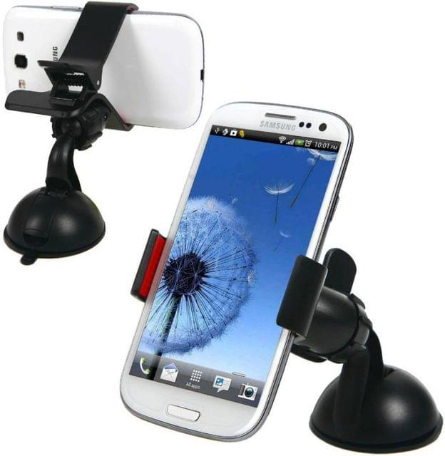 Universal Car Mobile Holder 360 Degree Rotating-Black