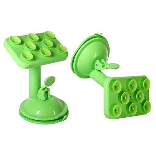 Mobile Stand Rotatable Mobile Phone Multi Function Placing Plate(Green)