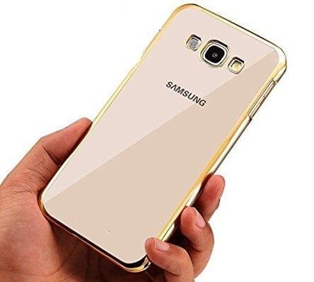 Samsung E5 Silicon Side Golden Cover