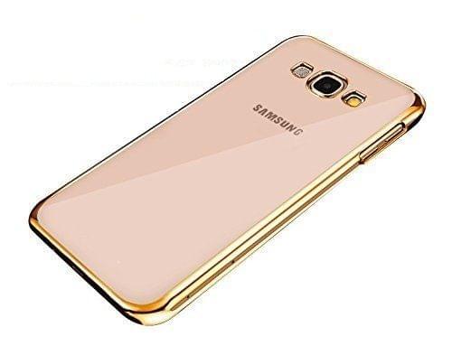 Samsung E7 Silicon Side Golden Cover