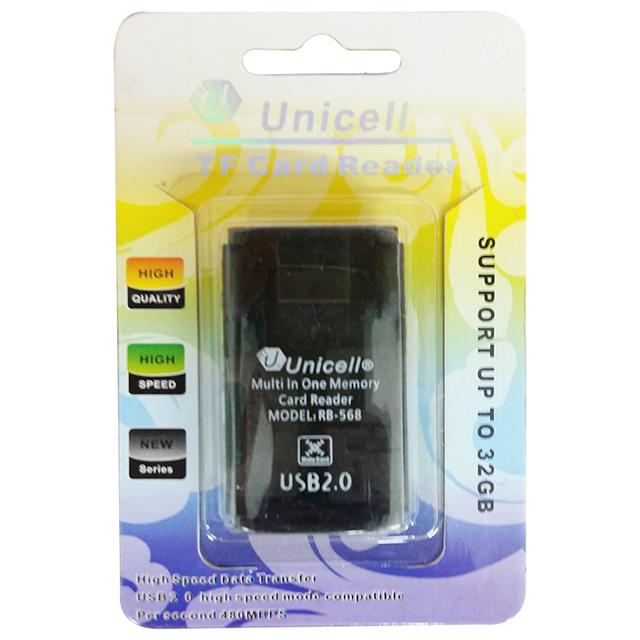 Unicell Card Reader T flash card Micro SD card (Support upto 32GB)