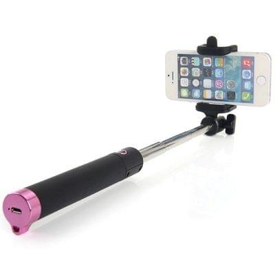 ikare Locust Series Bluetooth Smartphone Camera Extendable Selfie Stick Integrated Foldable Holder