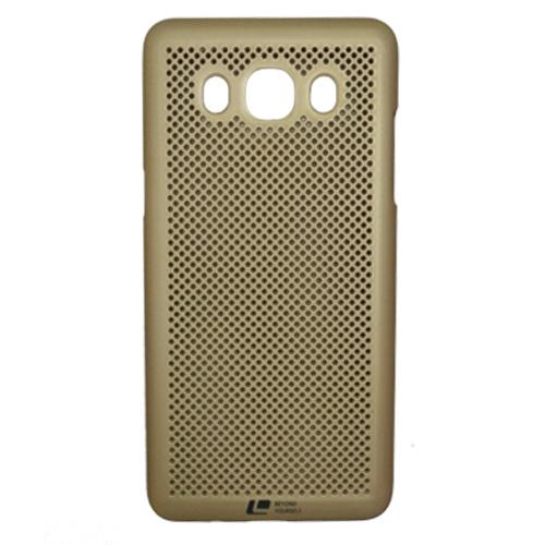 Samsung J5-2016  Loopee metal-effect Heat Dissipation Hollow Thin Case Cove-Black
