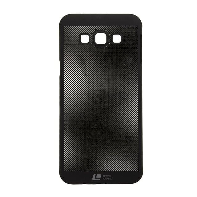 Samsung A5 2015 Loopee Heat Dissipation Hollow Thin Hard Back Case Cover-Black