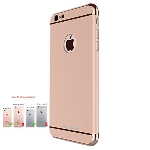 Joyroom Apple iPhone 6/6S Ling Series Official Electroplated Case Limited Edition Back Cover-Rose Gold