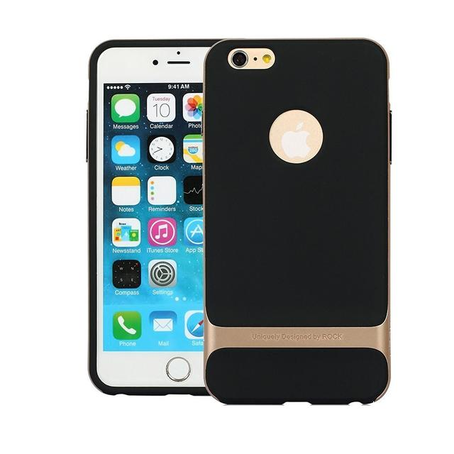 Apple Iphone 6  & 6s  Rock Royce Sleek Back Cover-Gold