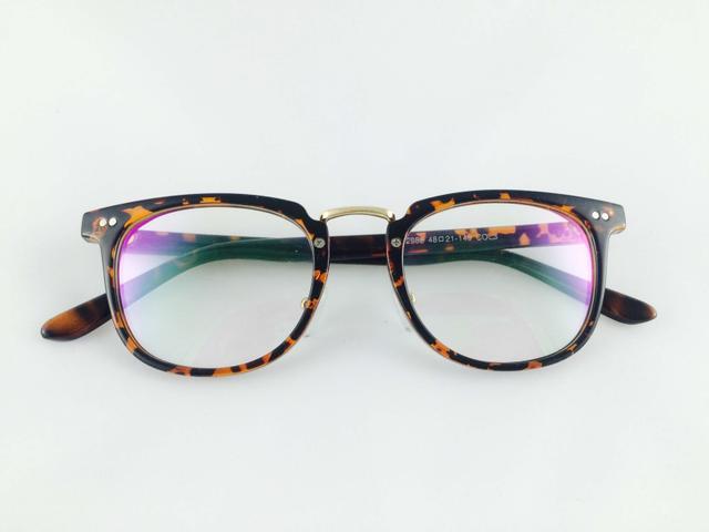 Tom Valentine Tiger  Full Frame Brow-Line Eyeglasses for men and women