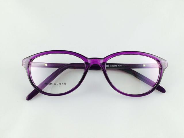 Tom Valentine Purple Full Frame Rectro-Square Eyeglasses for men and women