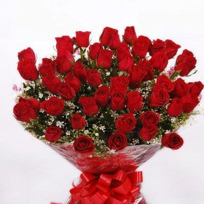 Big Boquet of Roses