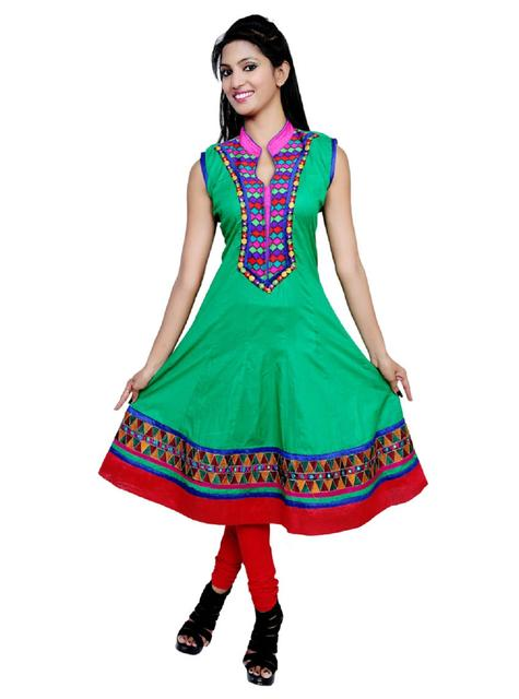 Port Casual Embroidered Women's Kurti