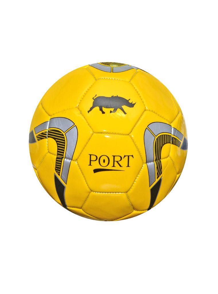 Port Men's Yellow Pvc Synthetic Football