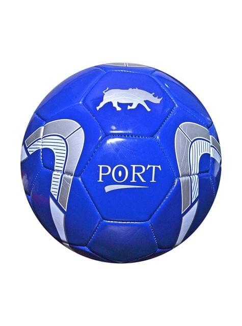 Port Men's Blue Pvc Synthetic Football