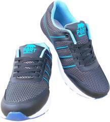 Port Men's Squash  Blue Mesh Runing Shoes