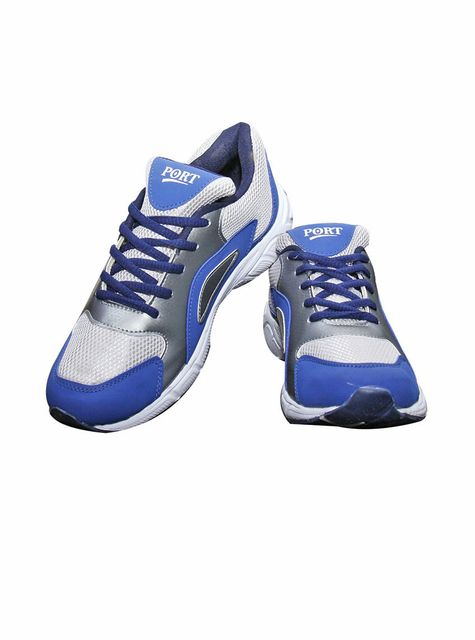 Port Men' SkyBlue Mesh Runing Shoes