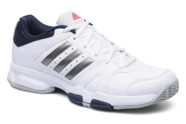 Adidas Barracks White Badminton  Shoes For Men