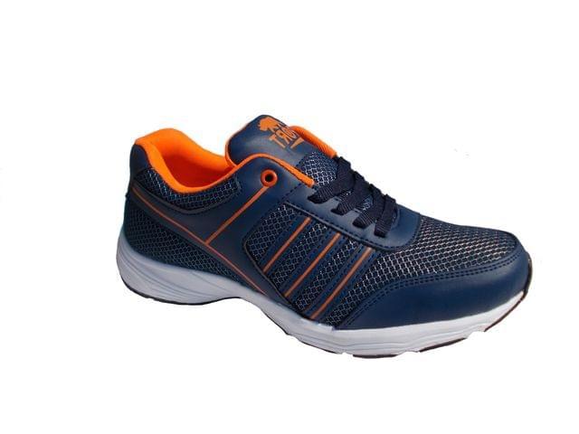Port Men's Blue Orange Counter Shoes