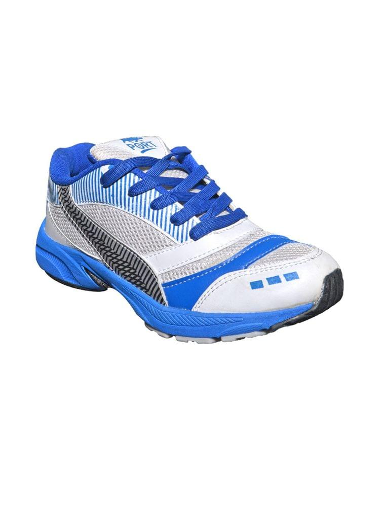 Port Men's Blue Speed star Mesh Runing Shoes