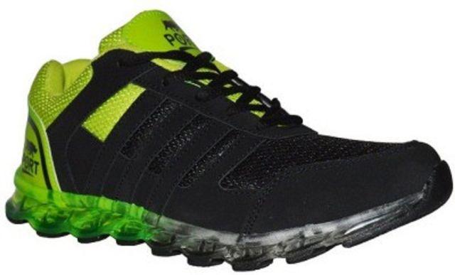 Port Men's Atom Green Running Shoes