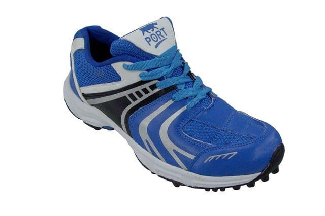 Port Men's Rezer Blue Cricket Shoes