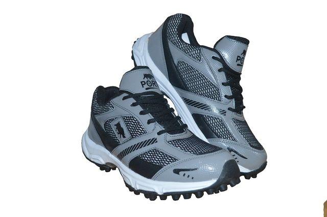 Port Men's Asics PU Cricket Shoes