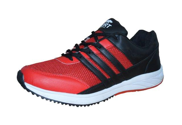 Port Men's Grace Red Running Shoes