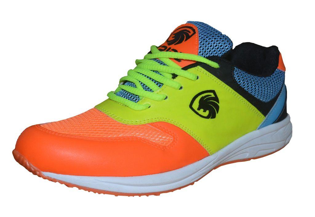 Port Men's Stride Orange Running Shoes