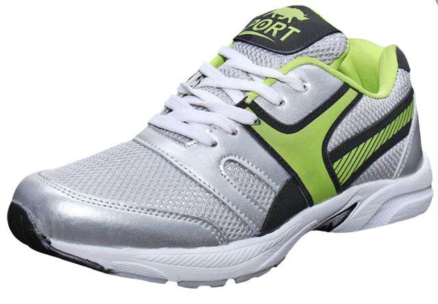 Port Men's Garvin Green Running Shoes