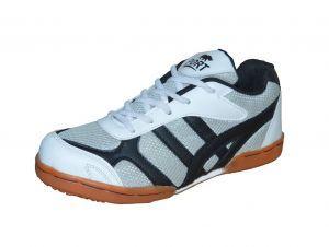 Port Men's Harnet Grey Badminton Shoes