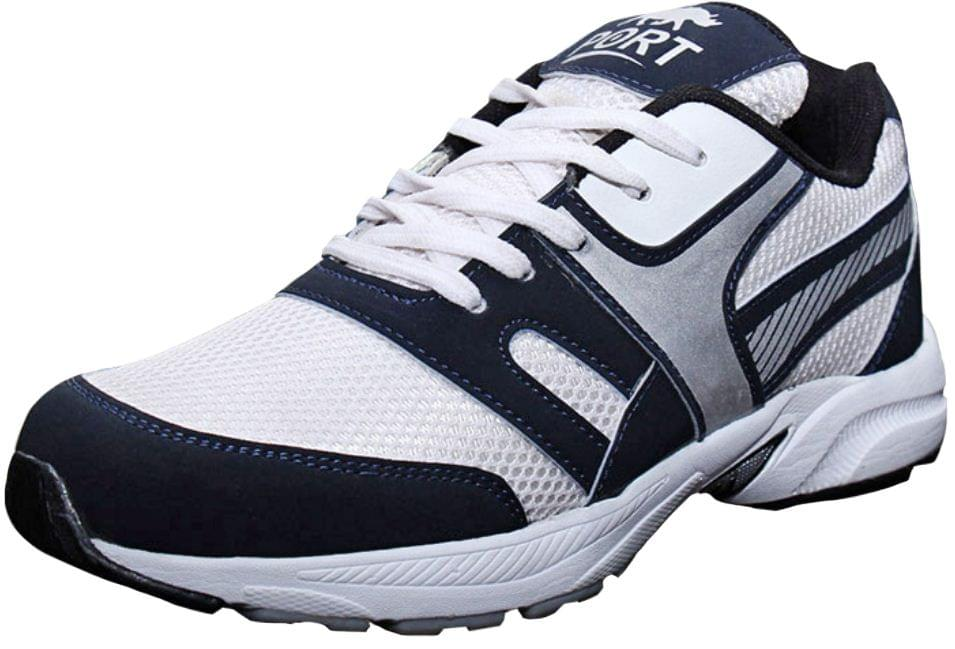 Port Men's Daizy Silver Running Shoes