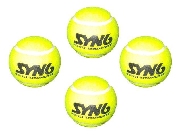 Syndicate Syn6 Tennis Balls Pack Of 4