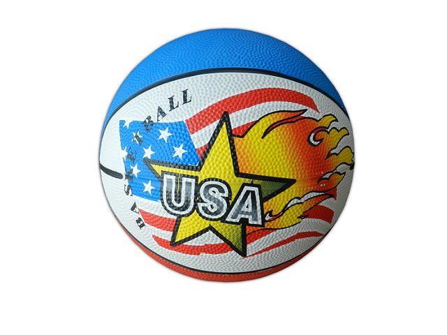 Flash Nylon Wound PU Material Basketball