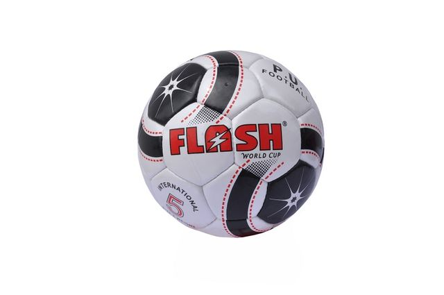 WORLDCUP Whites Shiny Surface  Flash football
