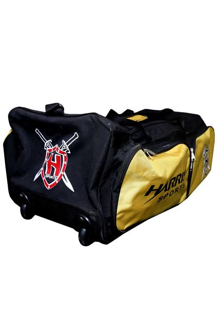 Harris Cricket Kit Bag With Wheels(2 Pockets)