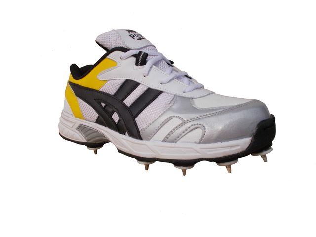 Port Men's Power Spikes Cricket Shoes