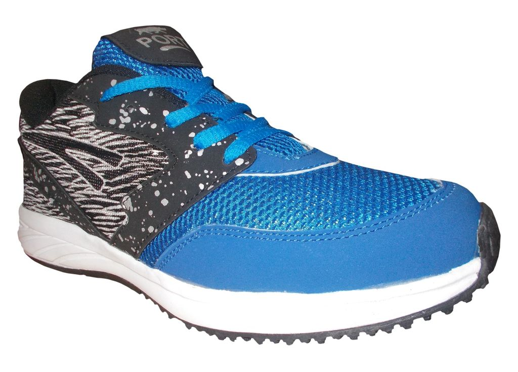 Port Blue Impact Running Sports Shoe For Men