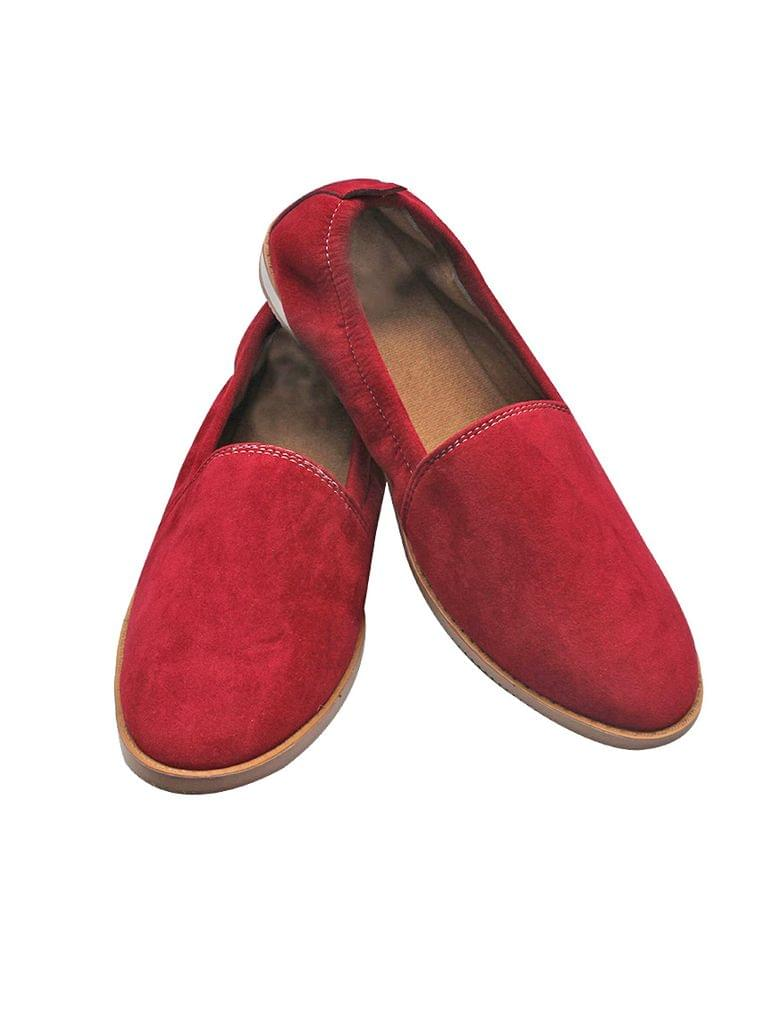 Port Gothic Casual Shoes  (Maroon)