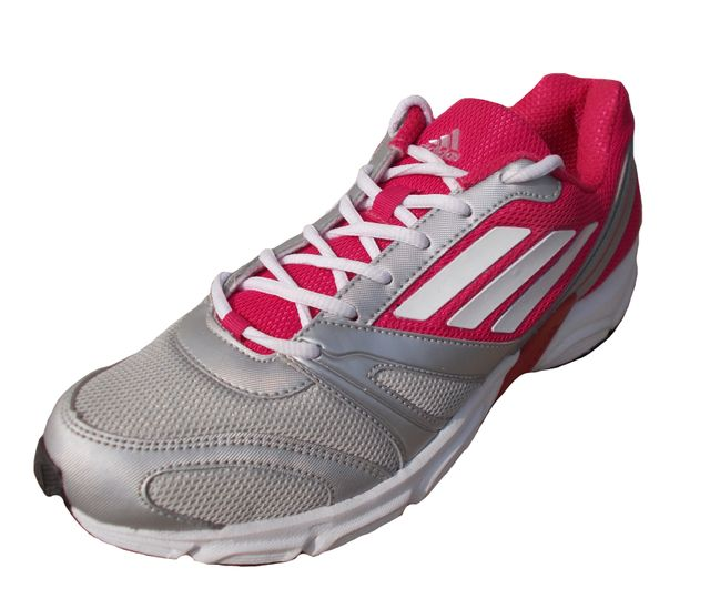 Adidas Women' Maroon Gray Mesh Sports Shoes